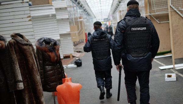 Полиция проверяет рынок Садовод. Архивное фото