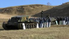 Спецназ на танке взял штурмом исправительную колонию в Красноярске