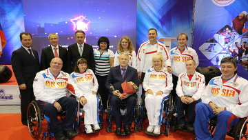 Виталий Мутко (3-й слева)