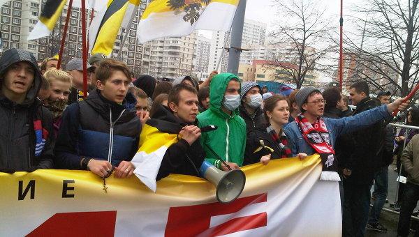 Русский марш в Люблино. Архивное фото