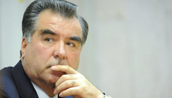 Президент Таджикистана Эмомали Рахмон. Архивное фото