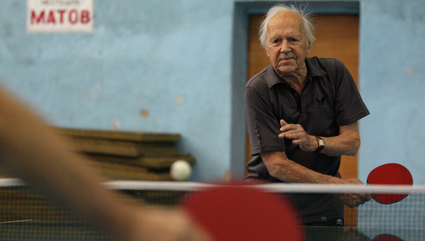 Новосибирский теннисист Александр Каптаренко, архивное фото