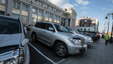 Парковки в центре Владивостока