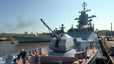 Корвет Бойкий Балтийского флота ВМФ России