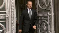 Посол Польши получил ноту протеста и в молчании покинул здание МИД РФ