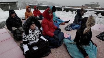 Буддисты из 18 стран 12 часов медитировали в защиту Орлинки в Приморье