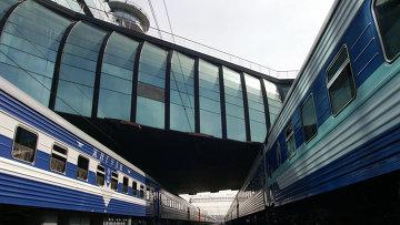 Железнодорожный вокзал в Самаре. Архивное фото