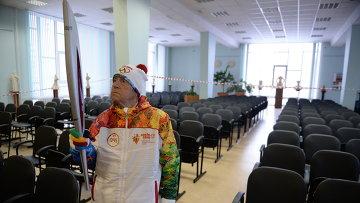 101-летний спортсмен Александр Каптаренко