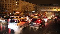 Пробка во Владивостоке. Фото с места события