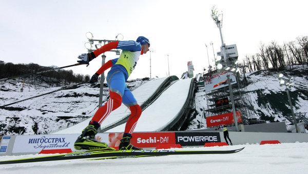 Лыжное двоеборье. Архивное фото