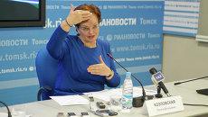 Оксана Козловская, председатель Законодательной Думы Томской области, событийное фото