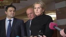 Васильева заплакала после признания в личных отношениях с Сердюковым