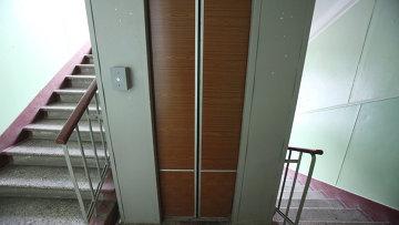 Работа лифта. Архивное фото