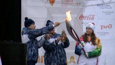 Олимпийский огонь начал шествие по Самаре