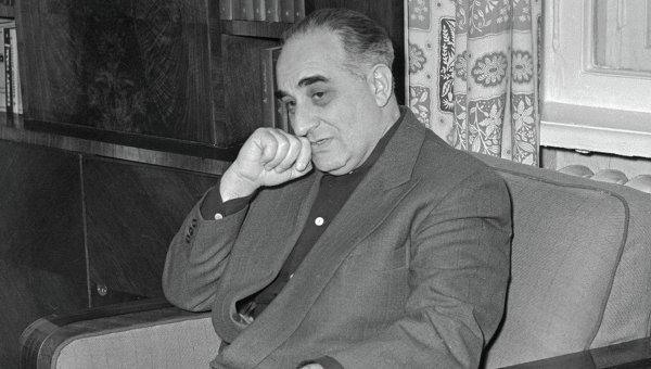 Режиссер Михаил Калатозов, 1958 год. Архивное фото