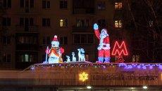 Новогодний Новосибирск: ноу-хау и традиции украшения