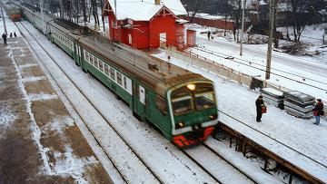 Железнодорожная платформа Ухтомская. Архивное фото