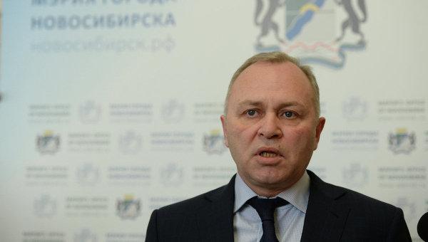 Исполняющий обязанности мэра Новосибирска Владимир Знатков, архивное фото