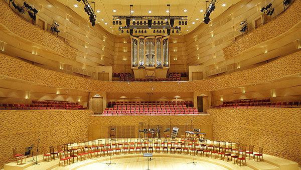 Концертный зал Мариинского театра, архивное фото
