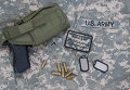 Форма и оружие солдата армии США