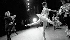 Галина Уланова на сцене Большого театра СССР