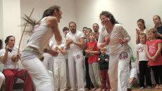 Боевые танцы и музыкальные луки открыли школу капоэйры во Владивостоке