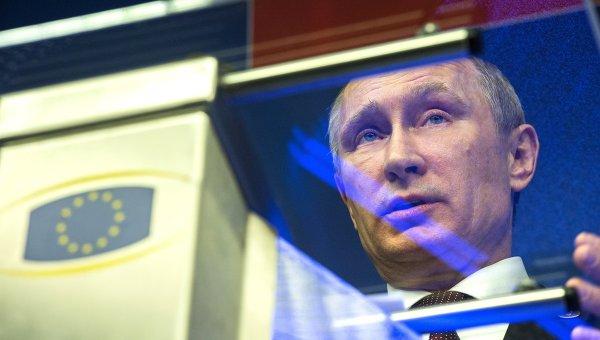 Встреча на высшем уровне Россия – Европейский союз в Брюсселе. Архивное фото