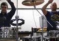 Томские барабанщики показали, что исполнят для чемпионов  Олимпиады