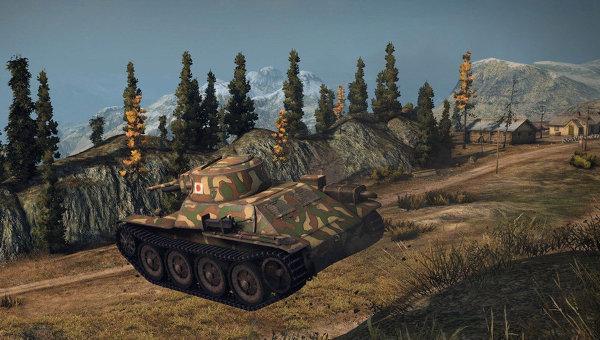 Многопользовательская онлайн-игра World of Tanks