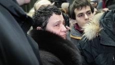 Судебное  заседание по делу Елены Баснер, фото с места события
