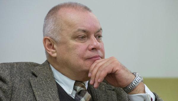 Генеральный директор федерального государственного унитарного предприятия Международное информационное агентство Россия сегодня Дмитрий Киселев