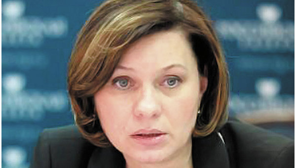 Начальник управления организации ОМС Федерального фонда обязательного медицинского страхования Светлана Кравчук