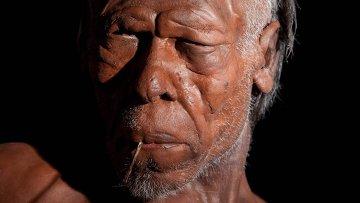 Модель древнего Homo Sapiens. Архивное фото