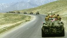 Воины возвращаются домой из Афганистана. Архивное фото