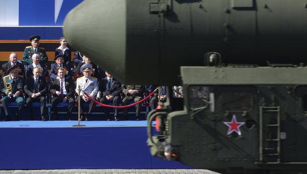 Парад Победы на Красной площади в Москве. Архивное фото