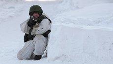 Момент учений новосибирского спецназа. Архивное фото