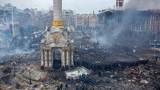 Беспорядки на Майдане в Киеве в феврале 2014. Архивное фото