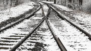 Железная дорога. Архивное фото.
