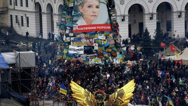 Ситуация в Киеве 23 февраля 2014