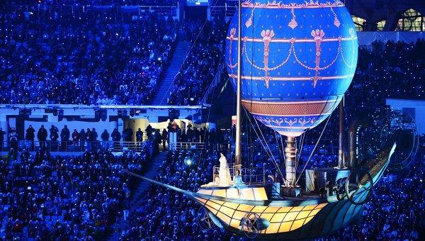 Церемония закрытия XXII зимних Олимпийских игр в Сочи. Архивное фото