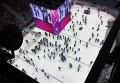 Волонтеры на льду на Олимпиаде в Сочи
