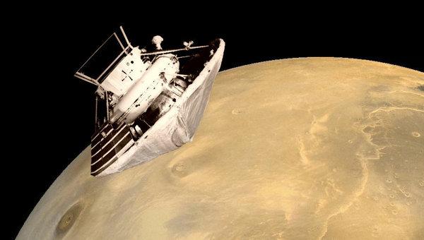 Зонд Марс-6. Архивное фото