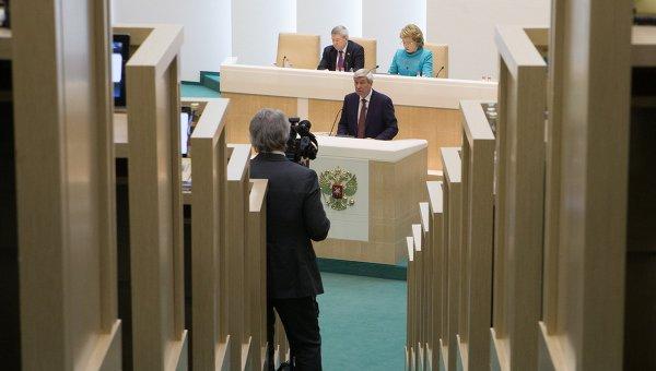 Заседание Совета Федерации РФ. Фото с места события