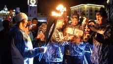 Эстафета Паралимпийского огня. Сочи. День 1