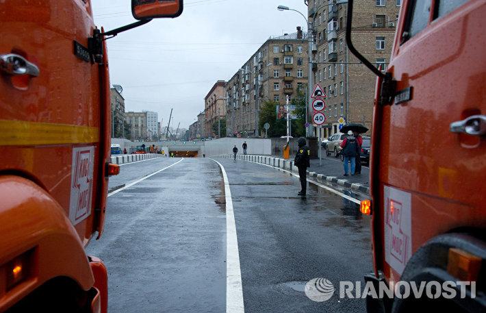 С.Собянин открыл движение по Алабяно-Балтийскому тоннелю