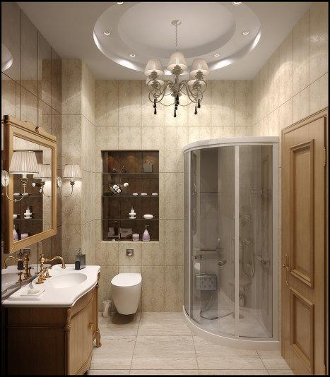 Ванная комната, мастерская дизайна