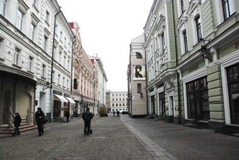 Столешников переулок, маршрут, Москва, улица