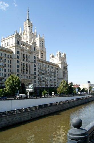 Яузская набережная, маршрут, Москва, высотка