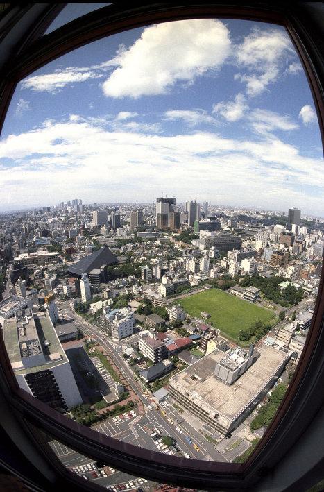Панорама города Токио