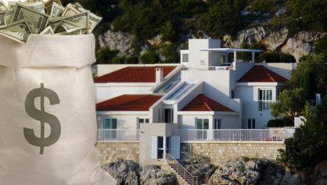 вилла, доллар, деньги, цены, имение США, элитное, элитка